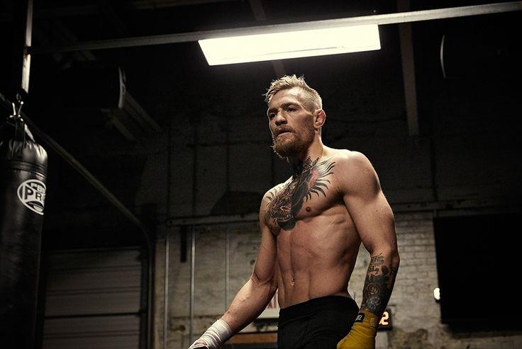"UFC featherweight Conor Mcgregor - ""Pressure creates diamonds my friend."""