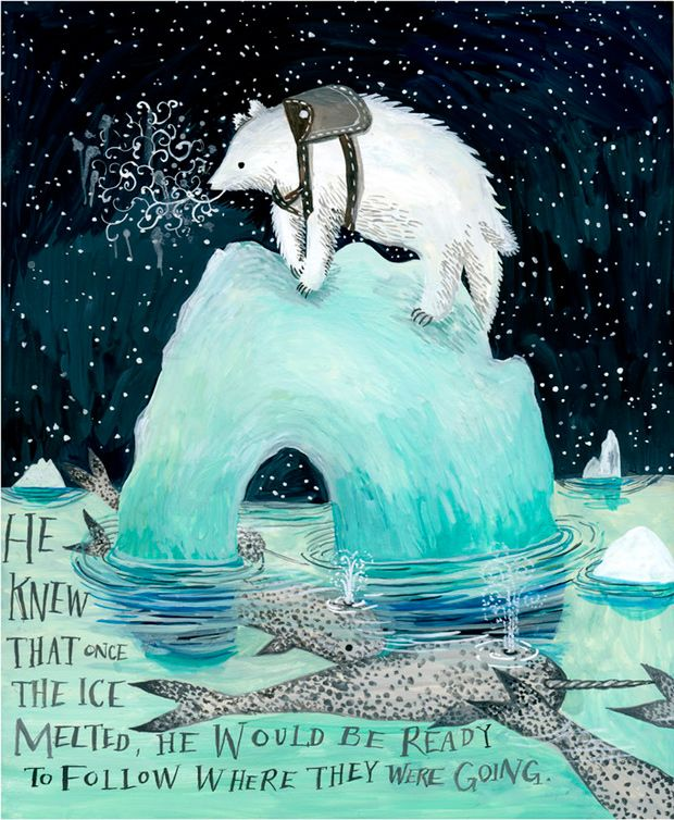 As fantásticas ilustrações de Diana Sudyka