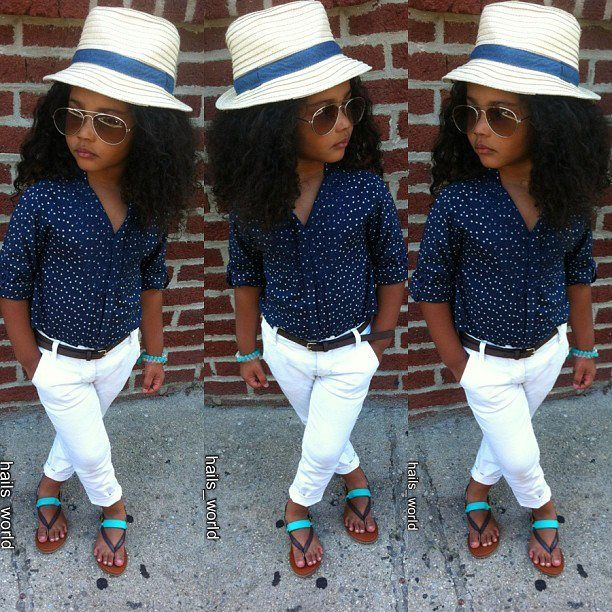 Kids fashion Baby u got swag! ;) omg @Alicia T T T T Galloway  your mini meee