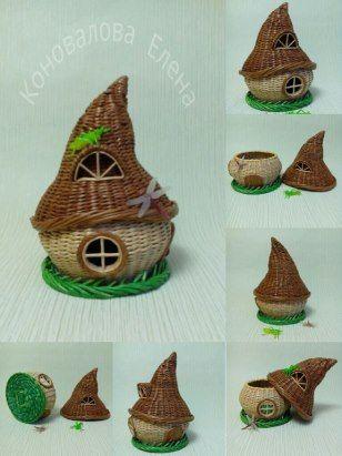 Fairy House Basket