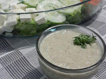 Receita de Molho italiano para salada - Tudo Gostoso