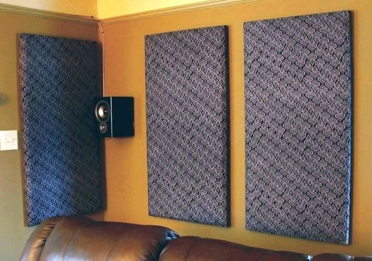 DIY Panel for Soundproof Room Divider in 2020   Acoustic ...
