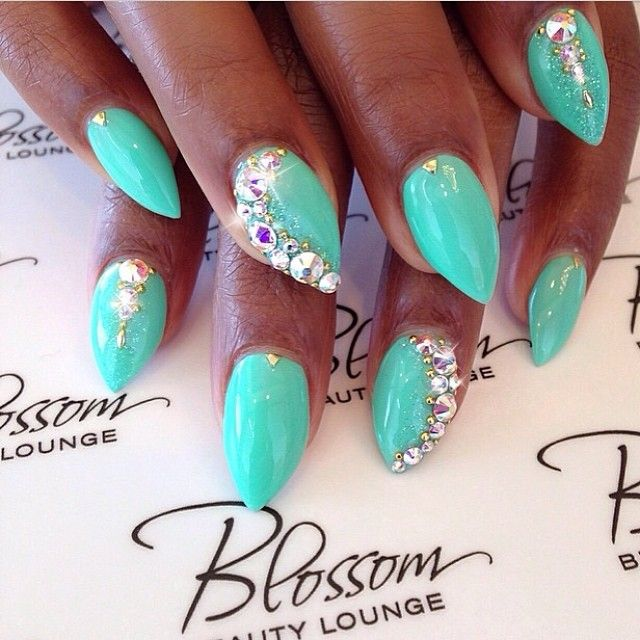 166 best our nail roomies images on pinterest youtube beauty that color those studs and the sparkle nails by the always wonderful cammy prinsesfo Images