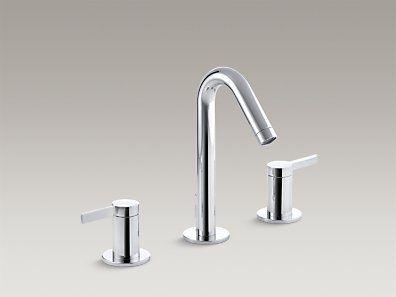 KOHLER | K 942 4 CP | Stillness® Widespread Bathroom Sink Faucet