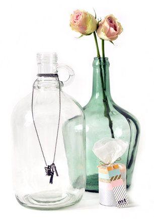 Bottle Vases <3 Melkstore
