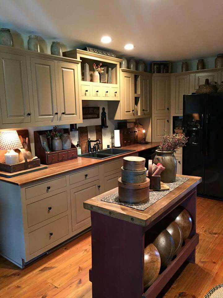Best Ideas For Primitive Country Kitchen Decoration In 2020