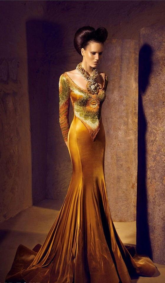 Nicolas Jebran 2012 *Gold Haute Couture*#elemental