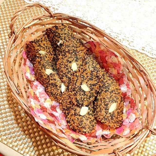 ぁゃ's dish photo ごまチュイール レシピ簡単ver | http://snapdish.co #SnapDish #レシピ