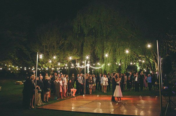 CLARE & MITCH - Hello May blog. Montrose Berry Farm at Sutton Forest. Photography: http://mitchpohl.com.au/blog/ Wedding hire items: outdoor dance floor, tiffany chairs, wine barrels, spigelau glassware - www.youreventsolution.com.au #weddings #YourEventSolution