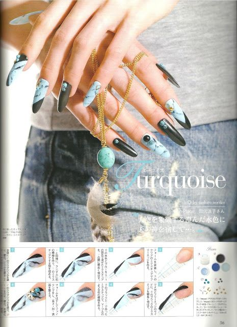 Japanese Nail Art Designs Magazine Absolute Cycle