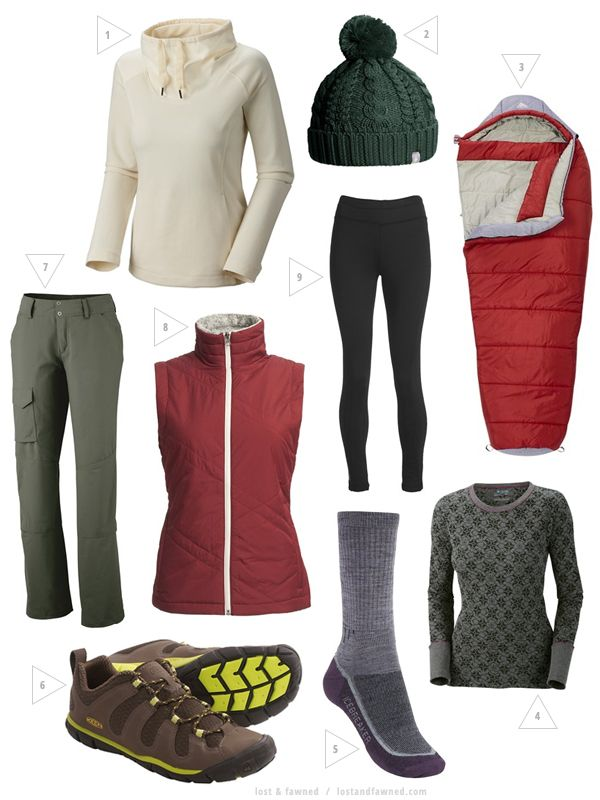 Cold Weather Backpacking & Camping Gear Picks from Lost and Fawned    #backpacking #camping #fall