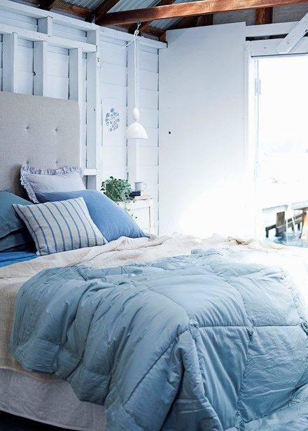 Drift off Let layers of floaty linen transport you to a serene slumber | Home Beautiful Magazine Australia