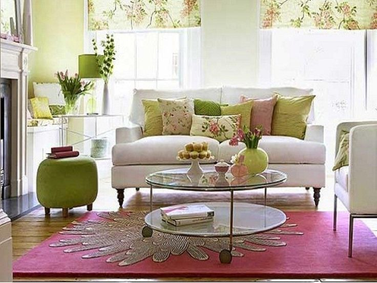 10 best lime green living room design with fresh color - Green living room ideas decorating ...