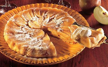 Krydret æbletærte