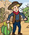 wild west activities and crafts.