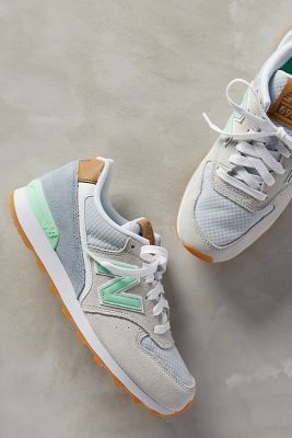 New Balance 696 Sneakers Grey/green