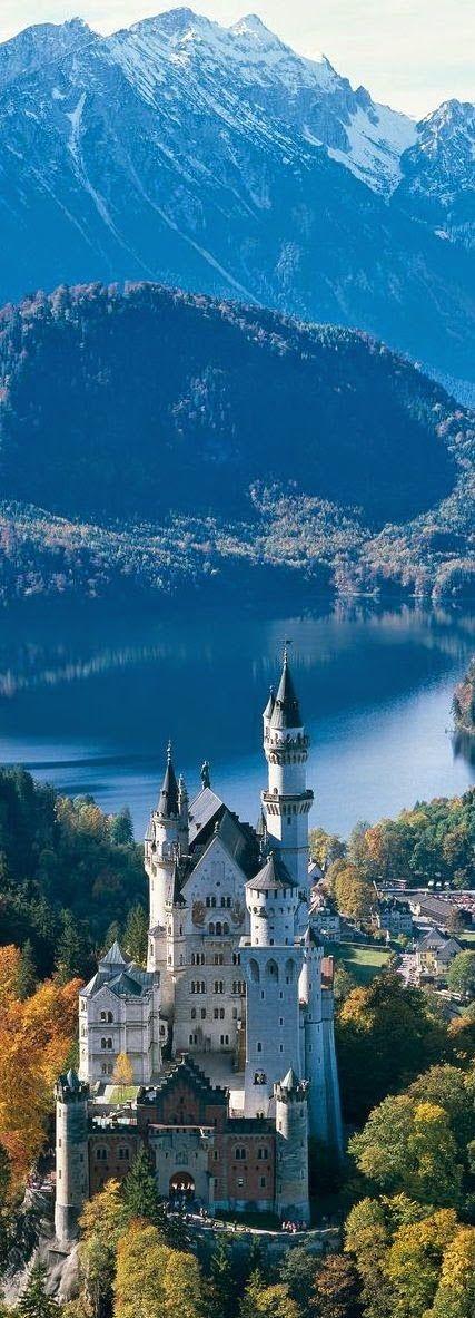 ドイツ・ノインシュバンシュタイン城 Neuschwanstein Castle, Germany