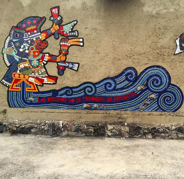 #urbanart #mosaicart Miravalle Iztapala