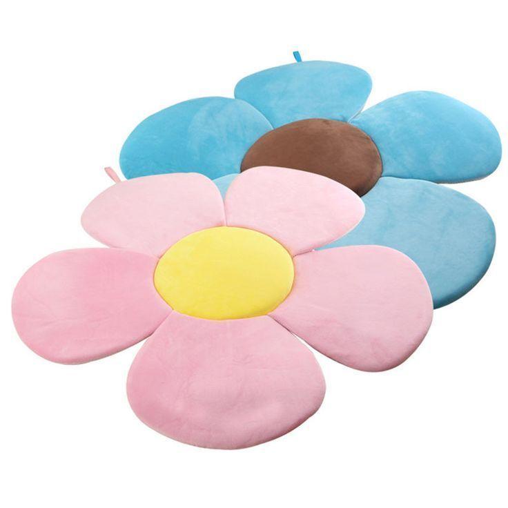 Flower Sponge Mat Baby Bath Pillow Newborn Bathing Accessories Baby Bath Bat Newborn Bath Flower Bath Baby Bath