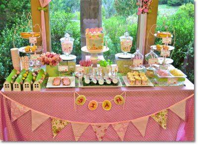Tea Party: Birthday Parties, Teas Parties Birthday, Shower Inspiration, 1St Birthday, Spring Bridal Shower, Vintage Teas Parties, Parties Ideas, Parties Desserts, Desserts Tables