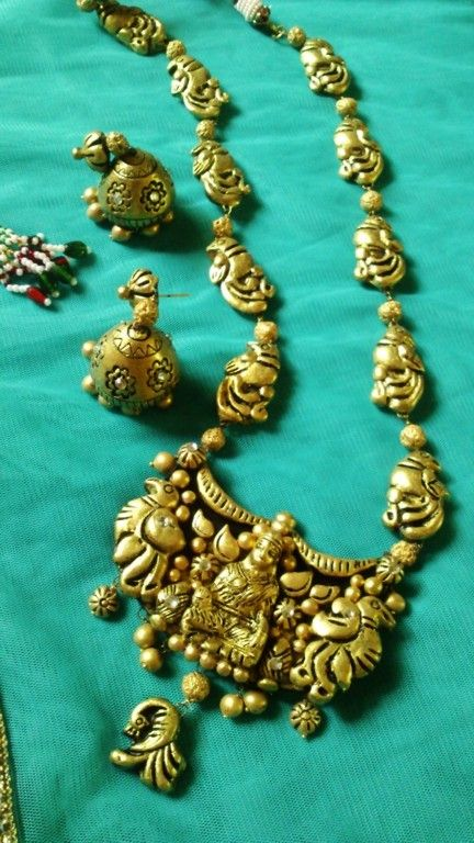 Maha Laxmi Terracotta Jewelry in New Delhi, Delhi, India - BONA ...