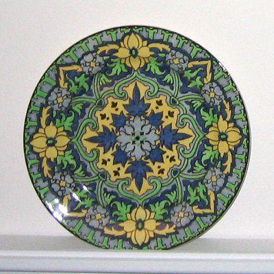 Royal Doulton Iznik porcelain plate.