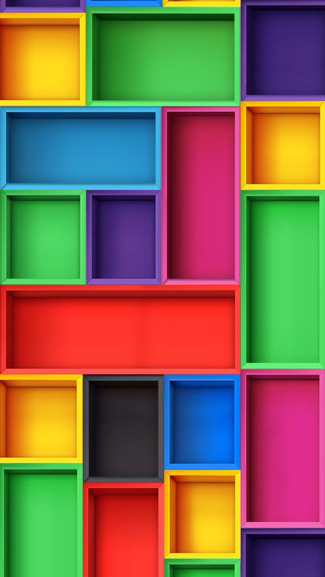 colored blocks wallpaper trololo -#main