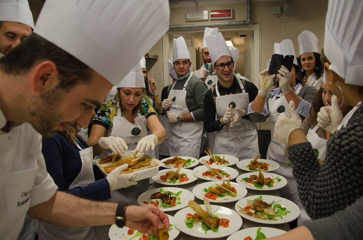 On February 18th Sympossio shared the Greek culinary experience @ Pesaro Italy!