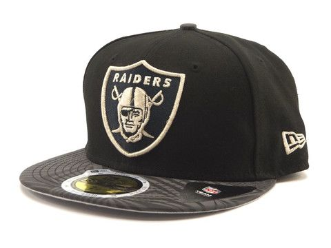 Print Trance 59FIFTY Fitted Oak Raiders Black / Silver