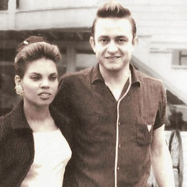 Ist wife Vivian Liberto and a young Johnny Cash.