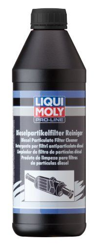 Liqui Moly 5169 Diesel Particulate Filter Cleaner – 1 Liter  Don't replace your diesel particulate filter; clean it by using Liquid Moly's DPF Cleaning Kit. DPF Cleaner is a highly effective fluid (and one piece of the kit) for cleaning clogged diesel particulate filters in passenger cars, SUVs light to medium duty trucks including those powered by Duramax and Cummins engines. The DPF cleaner dissolves contaminants in diesel particulate filters. Returns optimum vehicle handling, engi..
