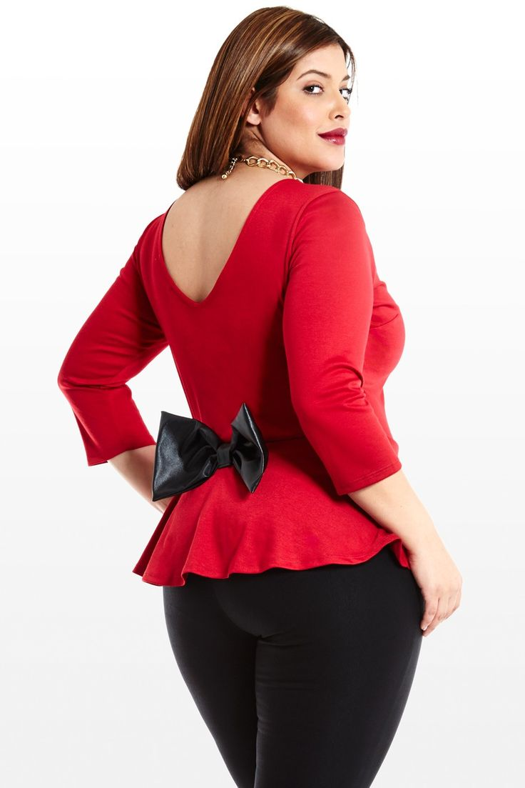 71 best images about Plus Size Peplum on Pinterest | Peplum blouse ...
