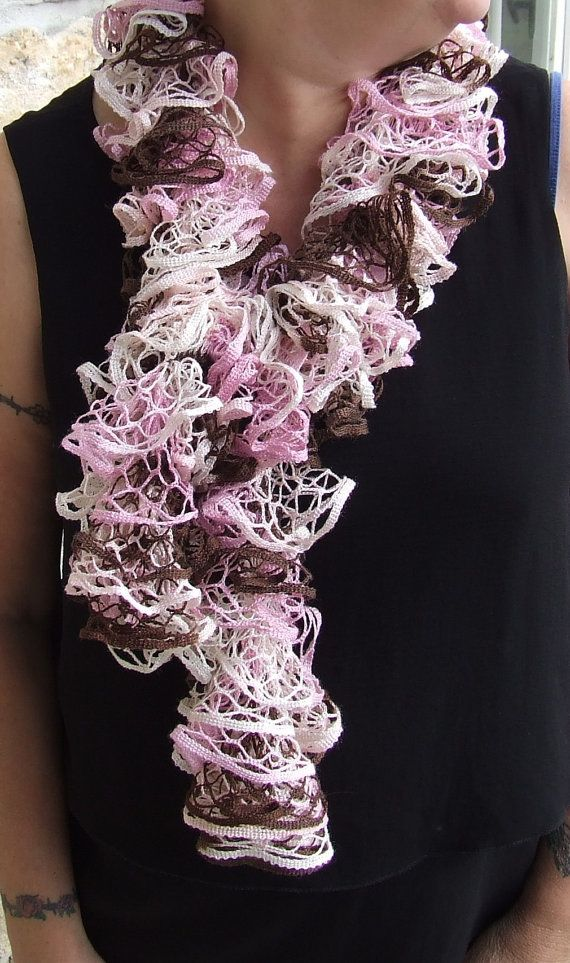 1000 ideas about ruffle scarf on sashay yarn