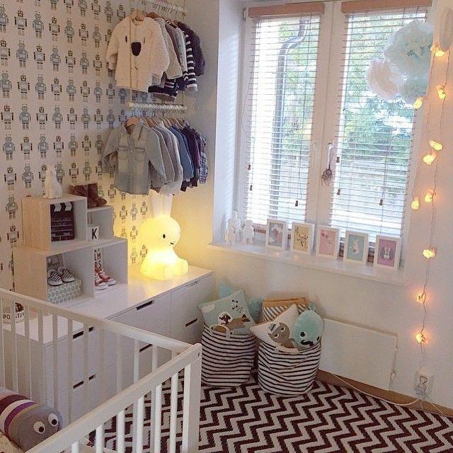 Scandinavian baby room