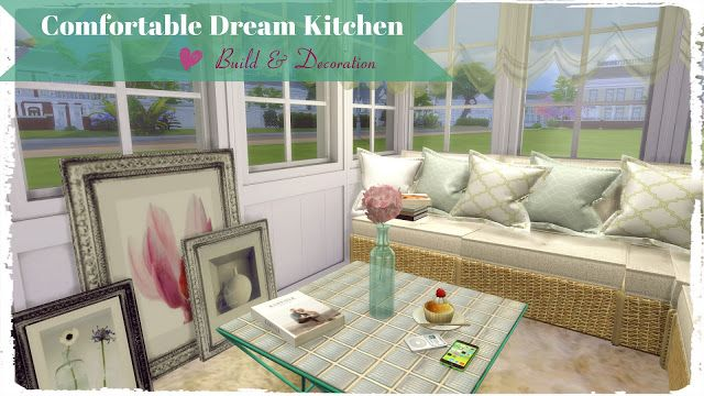Sims 4 - Comfortable Dream Kitchen
