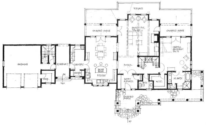 Mountain home designs woodhaven move the wic to south What is wic in a floor plan