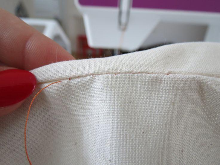 Couture invisible la main techniques couture for Couture a la main invisible