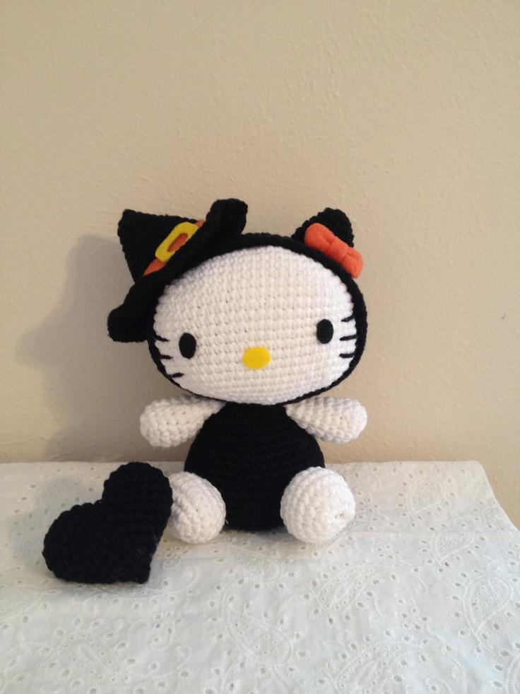Hello Kitty Halloween Amigurumi : 17 Best images about Witch crochet on Pinterest Crochet ...