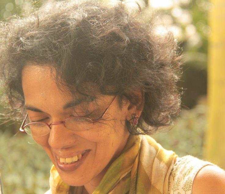 Indian poet Karthika Nair, featured on PI in December 2013. Image © Mujib M.K.