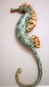 sea creatures sculpture -