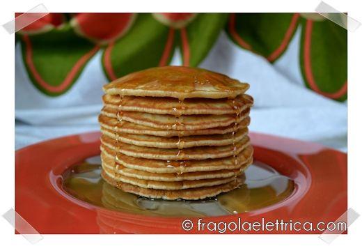 PANCAKES fragolaelettrica.com Le ricette di Ennio Zaccariello #Ricetta