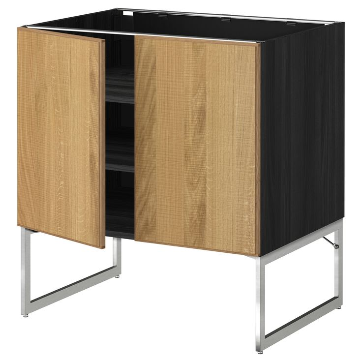 die besten 25 unterschrank k che ideen auf pinterest podestbett zum ausziehen unterschrank. Black Bedroom Furniture Sets. Home Design Ideas
