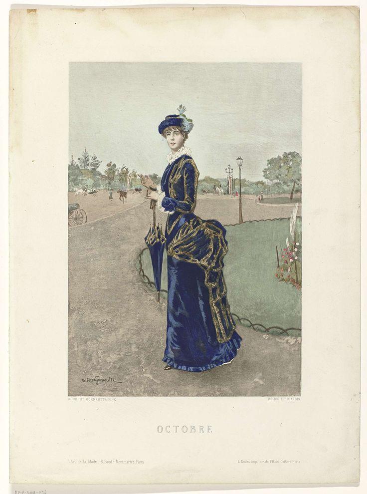 L'Art de la Mode, 1880 : Octobre, P Dujardin, L Eudes, 1880