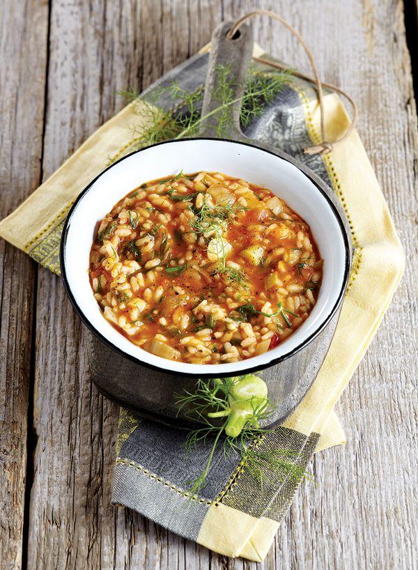 Ένα διαφορετικό και πολύ νόστιμο πιάτο με κοκκινιστό ρύζι για όσους νηστεύουν ή δεν αγαπούν το κρέας. #χορτοφάγος #vegetarian #vegan