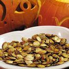 How to roast pumpkin seeds.  My mama use to do this! Yumm