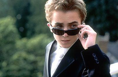 Frankie Muniz. Oh! How I used to love him when I was 13...