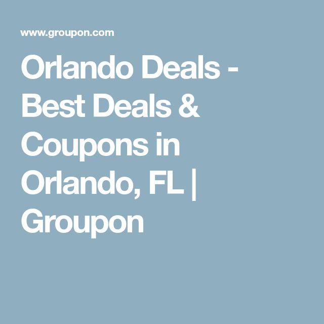 Orlando Deals - Best Deals & Coupons in Orlando, FL | Groupon