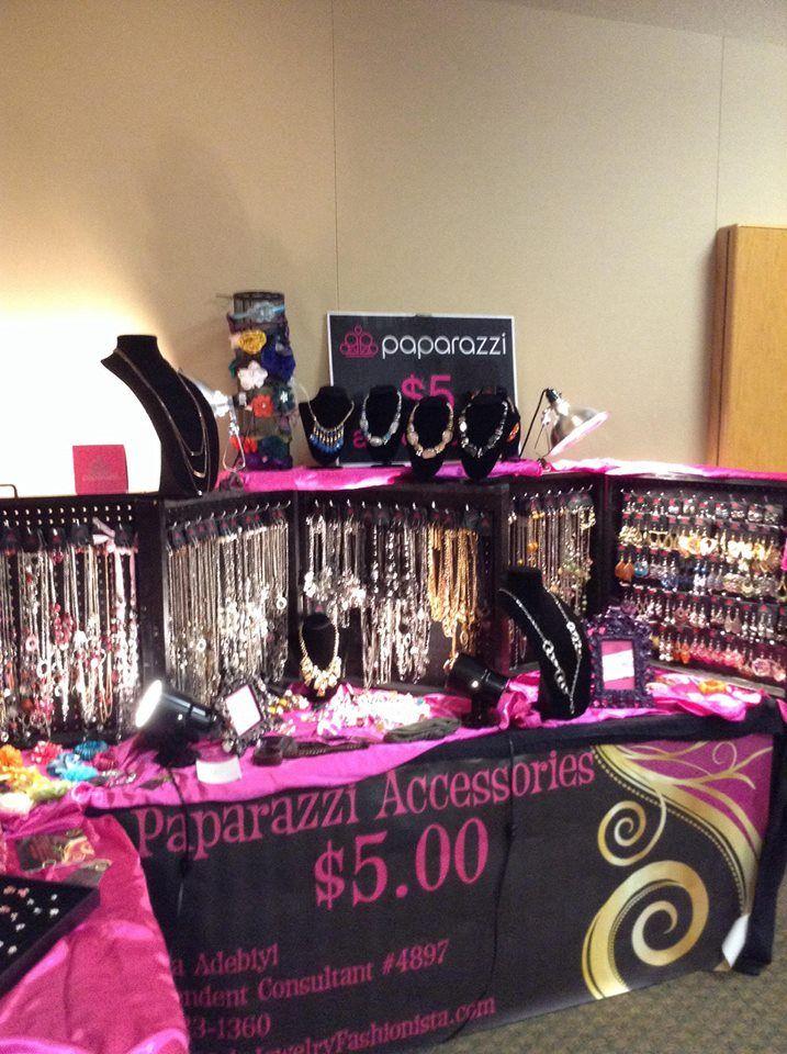 One of my events where I set up my Paparazzi Display.  www.paparazziaccessories.com/4897 www.facebook.com/AngelsJewelryFashionistas