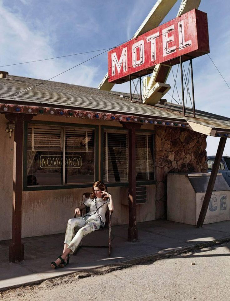 Catch the Heatwave – Zoltan Tombor captures a road trip that travels from desert to motel for the March edition of the Mail on Sunday's biannual fashion magazine, You Inspire. Styled by Caroline Baker, model Heide Lindgren sports ladylike ensembles featuring the work of Chanel, Louis Vuitton, Alberta Ferretti, Bulgari and others. Lush curls by...[Read More]