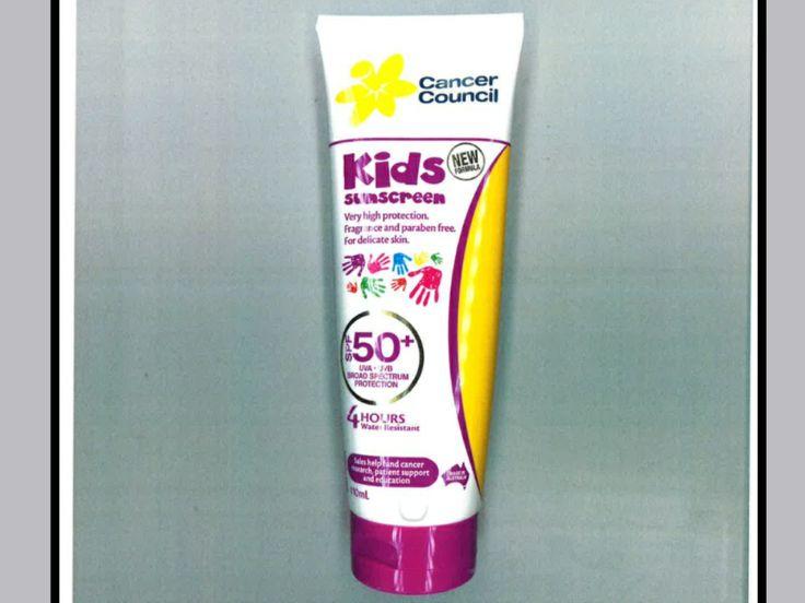 SPF 50+ sunscreen